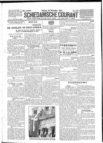Schiedamsche Courant 1935-11-29