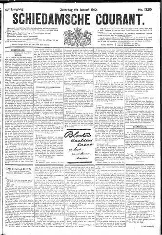Schiedamsche Courant 1910-01-29