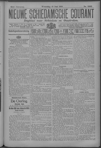 Nieuwe Schiedamsche Courant 1918-06-12
