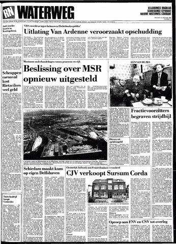 Rotterdamsch Nieuwsblad / Schiedamsche Courant / Rotterdams Dagblad / Waterweg / Algemeen Dagblad 1991-01-25