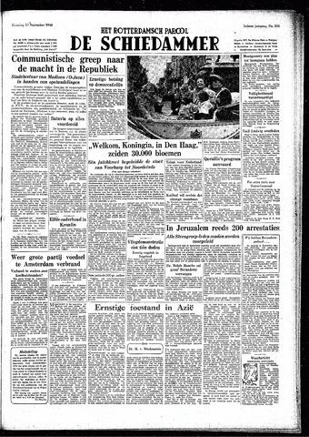 Rotterdamsch Parool / De Schiedammer 1948-09-20