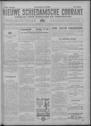 Nieuwe Schiedamsche Courant 1929-07-17