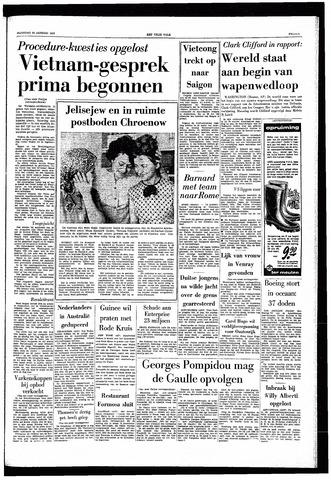 Het Vrije volk 1969-01-20