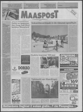 Maaspost / Maasstad / Maasstad Pers 1995-07-12