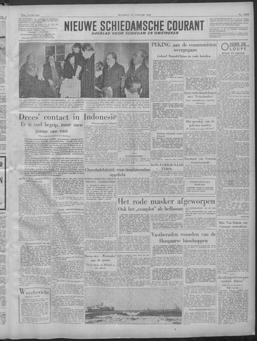 Nieuwe Schiedamsche Courant 1949-01-24
