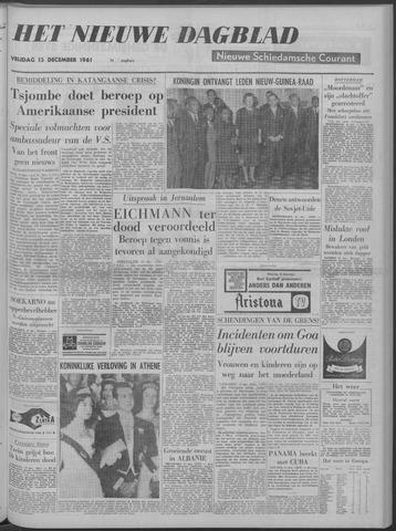 Nieuwe Schiedamsche Courant 1961-12-15