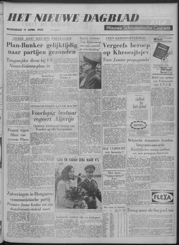 Nieuwe Schiedamsche Courant 1962-04-11