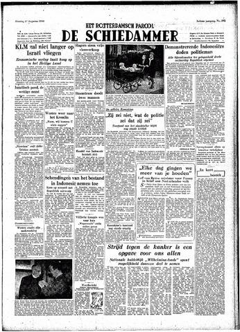 Rotterdamsch Parool / De Schiedammer 1948-08-17