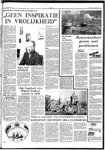 Trouw / De Rotterdammer 1970-08-01
