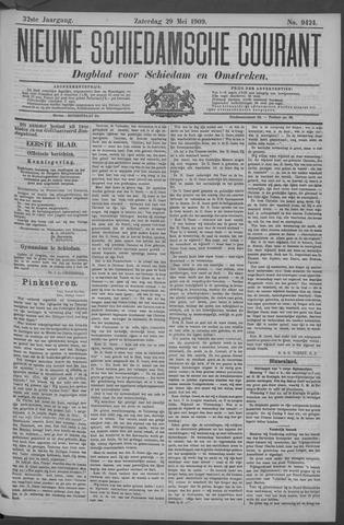 Nieuwe Schiedamsche Courant 1909-05-29