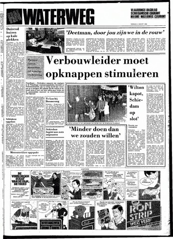 Rotterdamsch Nieuwsblad / Schiedamsche Courant / Rotterdams Dagblad / Waterweg / Algemeen Dagblad 1983-03-04