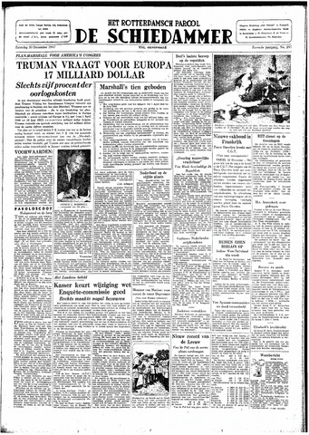 Rotterdamsch Parool / De Schiedammer 1947-12-20