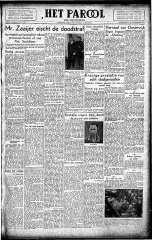 Rotterdamsch Parool / De Schiedammer 1945-11-29