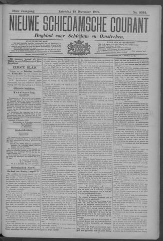 Nieuwe Schiedamsche Courant 1909-12-18