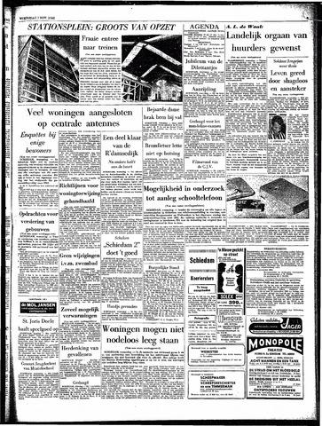 Rotterdamsch Parool / De Schiedammer 1962-11-07