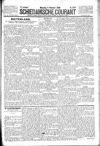 Schiedamsche Courant 1929-02-04