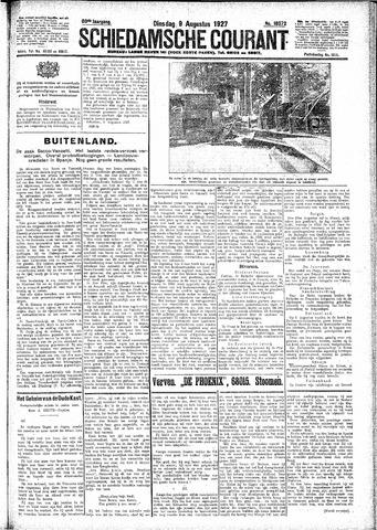 Schiedamsche Courant 1927-08-09