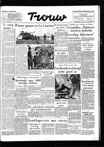 Trouw / De Rotterdammer 1959-07-14