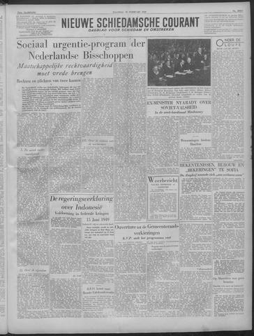 Nieuwe Schiedamsche Courant 1949-02-28