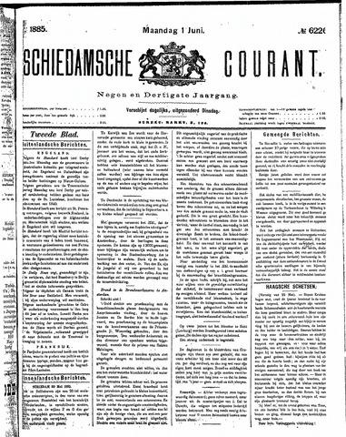 Schiedamsche Courant 1885-06-01
