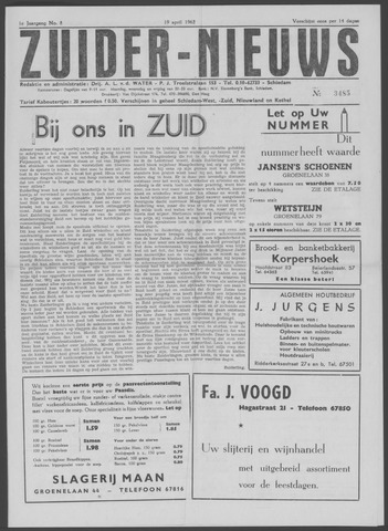 Zuider Nieuws 1962-04-19