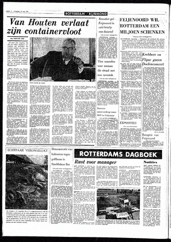 Rotterdamsch Parool / De Schiedammer 1970-05-13