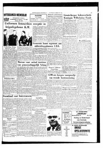 Rotterdamsch Nieuwsblad / Schiedamsche Courant / Rotterdams Dagblad / Waterweg / Algemeen Dagblad 1965-02-06