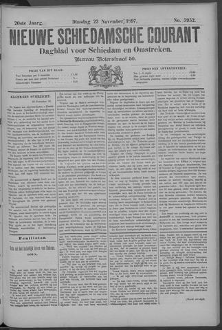Nieuwe Schiedamsche Courant 1897-11-23