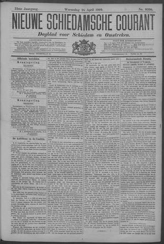 Nieuwe Schiedamsche Courant 1909-04-28