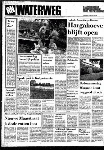 Rotterdamsch Nieuwsblad / Schiedamsche Courant / Rotterdams Dagblad / Waterweg / Algemeen Dagblad 1987-08-20