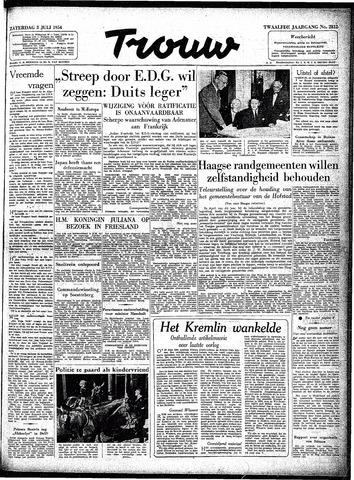 Trouw / De Rotterdammer 1954-07-03