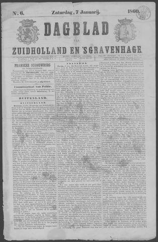 Dagblad van Zuid-Holland 1860-01-07
