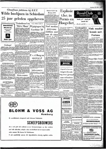 Rotterdamsch Parool / De Schiedammer 1964-07-04