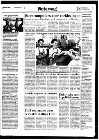 Rotterdamsch Nieuwsblad / Schiedamsche Courant / Rotterdams Dagblad / Waterweg / Algemeen Dagblad 1993-08-25