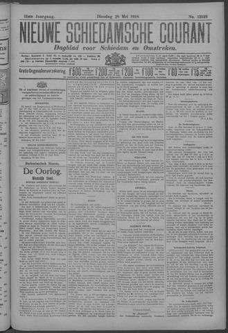 Nieuwe Schiedamsche Courant 1918-05-28