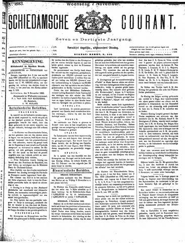 Schiedamsche Courant 1883-11-07