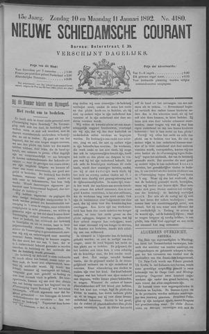 Nieuwe Schiedamsche Courant 1892-01-11