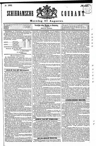 Schiedamsche Courant 1862-08-11