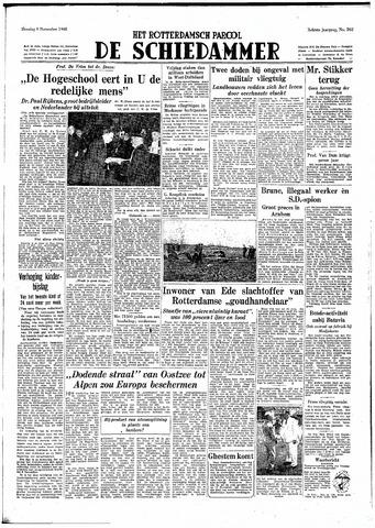 Rotterdamsch Parool / De Schiedammer 1948-11-09
