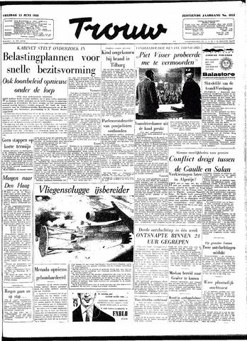 Trouw / De Rotterdammer 1958-06-13