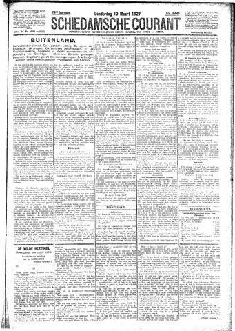 Schiedamsche Courant 1927-03-10