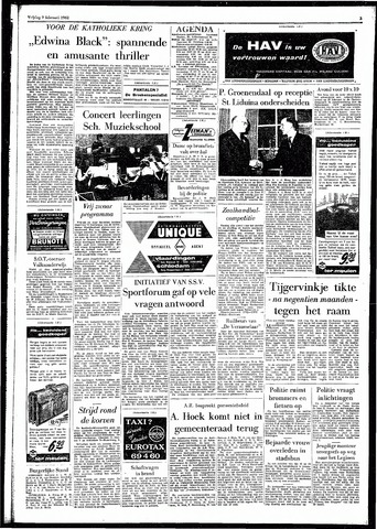 Rotterdamsch Parool / De Schiedammer 1962-02-09
