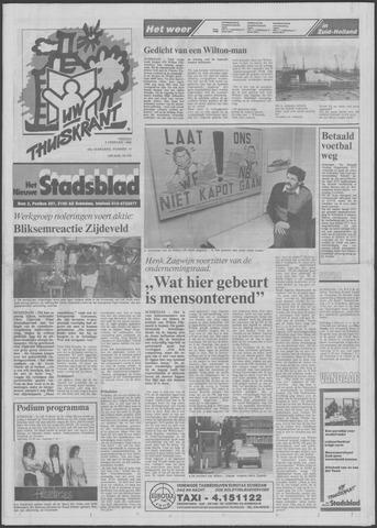 Het Nieuwe Stadsblad 1988-02-05