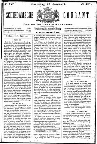 Schiedamsche Courant 1877-01-24