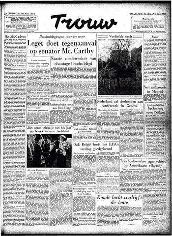 Trouw / De Rotterdammer 1954-03-13