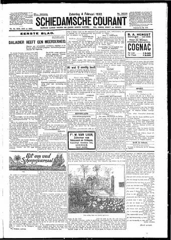 Schiedamsche Courant 1933-02-04