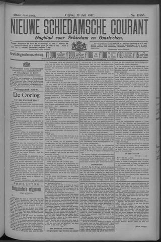 Nieuwe Schiedamsche Courant 1917-07-13
