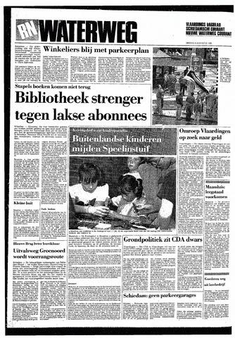 Rotterdamsch Nieuwsblad / Schiedamsche Courant / Rotterdams Dagblad / Waterweg / Algemeen Dagblad 1985-08-06