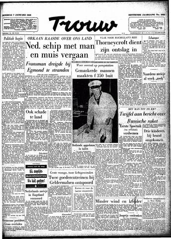 Trouw / De Rotterdammer 1958-01-07