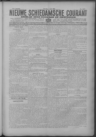 Nieuwe Schiedamsche Courant 1925-04-04